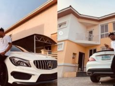 Mayorkun buys himself a brand new Mercedes-Benz CLA-Class (Photos)