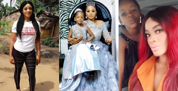 My baby daddy not involved in our daughter's life – Uche Ogbodo