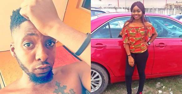 Nigerian Lady calls out her boyfriend for cheating on her with her friend