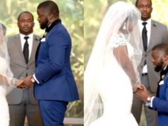 Nigerian groom delivers an emotional wedding vows to his bride (Video)
