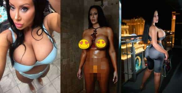 , P0rn star spends £380,000 on plastic surgery to become a 'living s6ex ROBOT' (Photos)