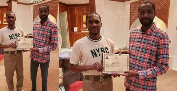 President Buhari's son, Yusuf, passes out from NYSC