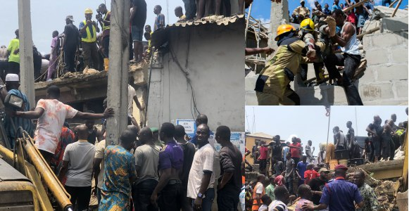 Image result for School Building Collapse In Lagos