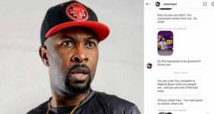 Ruggedman reacts to IG user threatening to report him to FBI for scamming her (Screenshots)