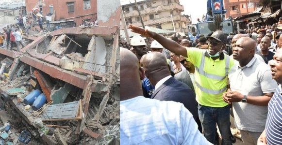 "''School in the Lagos collapsed building was operating illegally""- Governor Ambode says"