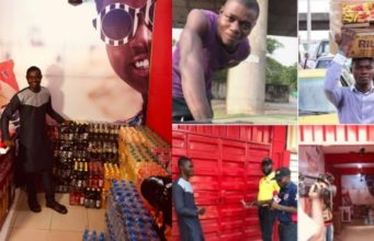 See how gala seller who gave his goods to prisoners, life has changed