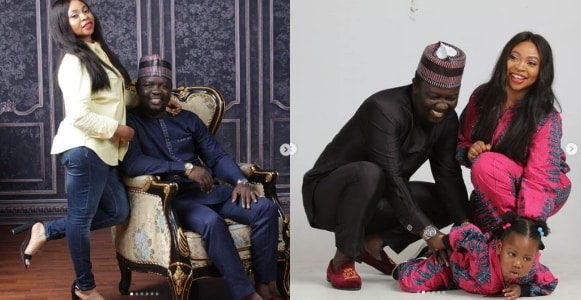 Seyi Law and wife celebrate 8th wedding anniversary (Photos)