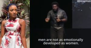 Simi tackles Pastor Kingsley Okonkwo over his sermon on sex