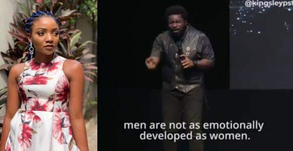 Simi tackles Pastor Kingsley Okonkwo over his sermon on sex