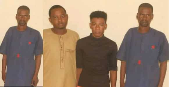 Three gay men arrested following a dispute over payment in Katsina