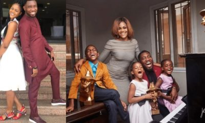 Timi Dakolo and wife celebrate their 7th wedding anniversary