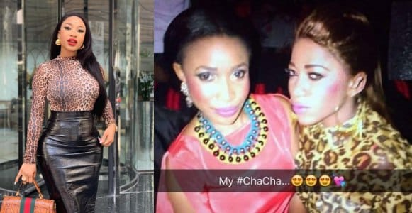 Tonto Dikeh reacts after Rukky Sanda unfollowed her on Instagram