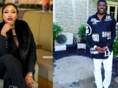 Tonto Dikeh reacts after actor, Davids Fagbuyiro rubbished her for threatening his children