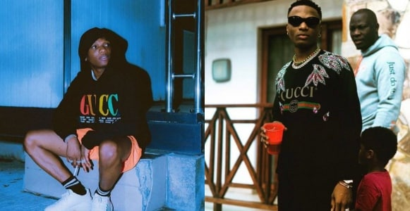 Wizkid shares x-rated threat message from a female fan