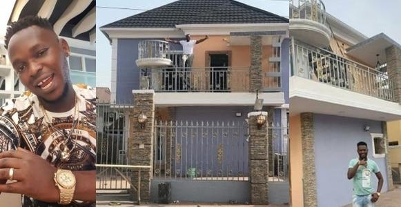 Yoruba fimmaker, Okiki Afolayan shows off his new mansion (Photos)