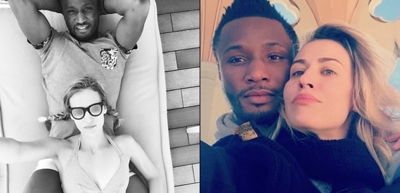 Mikel Obi and his partner, Olga celebrate 7 year anniversary