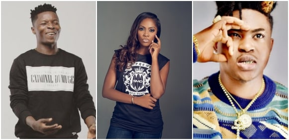 Wale Turner, Tiwa Savage, Danny Young