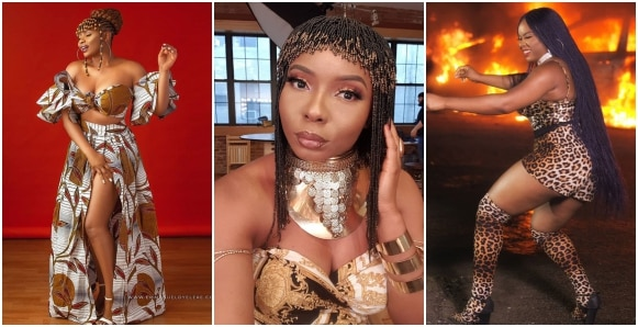 Yemi Alade celebrates 30th birthday with fiery photos