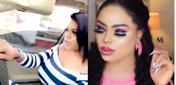 Bobrisky Causes Stir With New Video Of Her Grown Breast