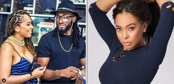 'Keep Shinning Beautiful' -Uti Nwachukwu reacts to rumours he's expecting a child with Tboss