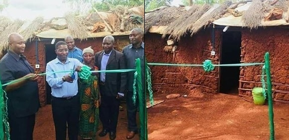 Kenya Politician Commissions Mud House He Built For A Widow
