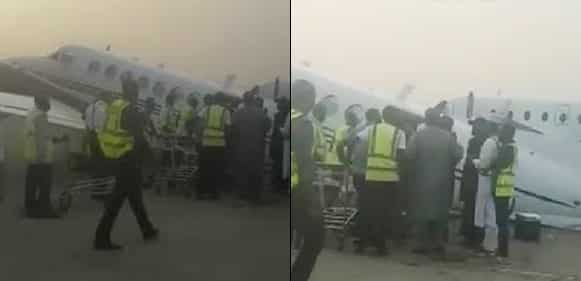 Elections: EFCC stopped from probing plane loaded with cash