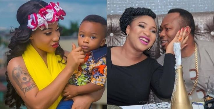 Tonto Dikeh reveals real reasons for changing her son's name