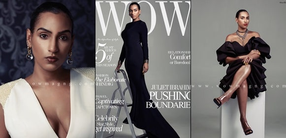 Juliet Ibrahim  Covers WOW Magazine's Latest Issue