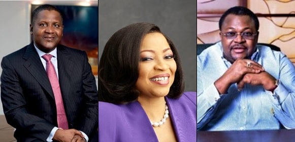 Four Nigerian Billionaires Make Forbes' List Of The World's Black Billionaires Of 2019