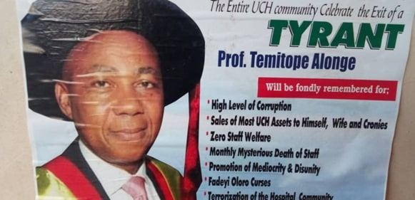 See The Savage And Terrible Way Staff Of UCH Celebrated The Retirement Of Their  Chief Medical Director Temitope Alonge