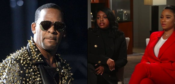 R Kelly's girlfriends defend him, say their parents lied because of money