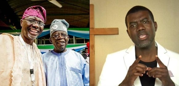 "'""Lagos people have a new puppet""- Reno Omokri slams Tinubu as Sanwo-olu floors Agbaje"