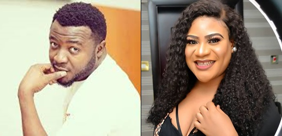 Sunday Nkechi Blessing takes off her top in MC Galaxy's live video
