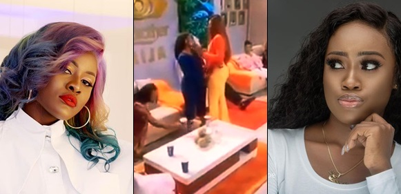 Ex-Big Brother Naija housemates, Alex and Ceec 'Kiss and Make-up'