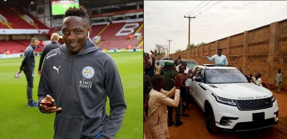 Image result for Ahmed Musa Reportedly Gifts N250,000 To Street Cleaner In Asaba