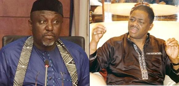 'Judas Of Igboland, Stop Crying' – Fani-Kayode Mocks Okorocha, Says He Is Igbo's Biggest Traitor