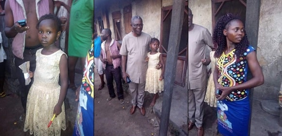 Delta State Official Visits Girl Who Was Sent Home For Not Paying Her Fees