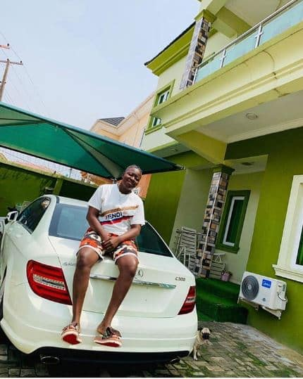 Rapper, Zlatan Ibile buys his girlfriend a Mercedes Benz as birthday gift (see photos): 2