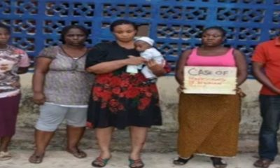 Lady sells off her 6-hour-old baby for ₦850,000