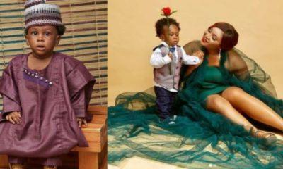 Alleged baby mama of Dangote's son-inlaw celebrates son's birthday (Photos)