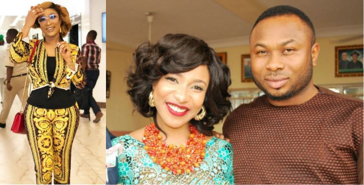 Between Tonto Dikeh and a follower who wishes she gets back together with Churchill