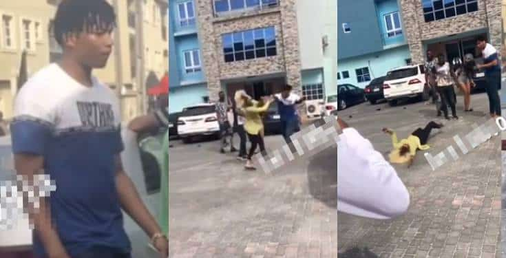 Boy beats lady to coma on her birthday in Lagos (Video)