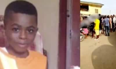 Boy found dead inside his aunt's neighbour's freezer in Lagos (Video)