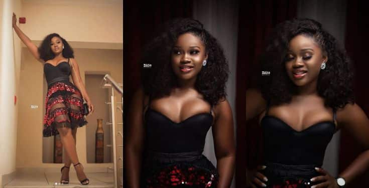 Cee-C's Boobs shooting out of her dress In new photos
