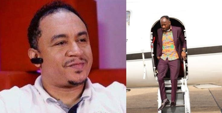 Daddy Freeze reacts to Apostle Suleman's newly acquired 'private jet'