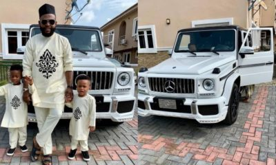 Dbanj's partner, Damian Ifeanyi shows off his brand new 2019 Mercedes Benz G63 AMG (Photos)