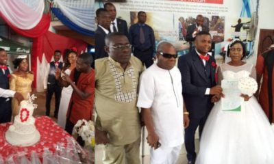 Deaf Man Weds Deaf Woman In Anambra State (Photos)