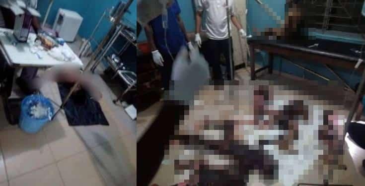 Estranged lover sets ex-girlfriend's family of nine ablaze in Ondo