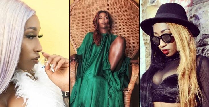 Victoria Kimani apologizes to Tiwa Savage