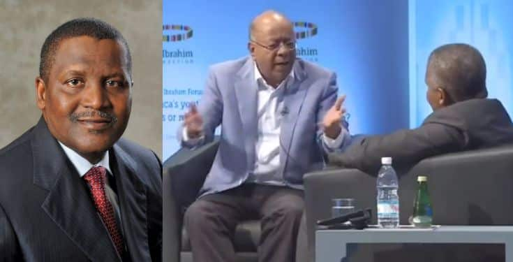 I once withdrew $10 million just to look at it – Dangote (Video)